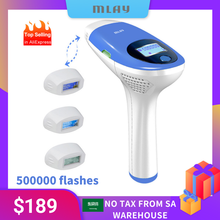 Epilator Hair-Removal-Machine Laser Mlay Ipl Flashes Permanent Electric Face-Body-3in1