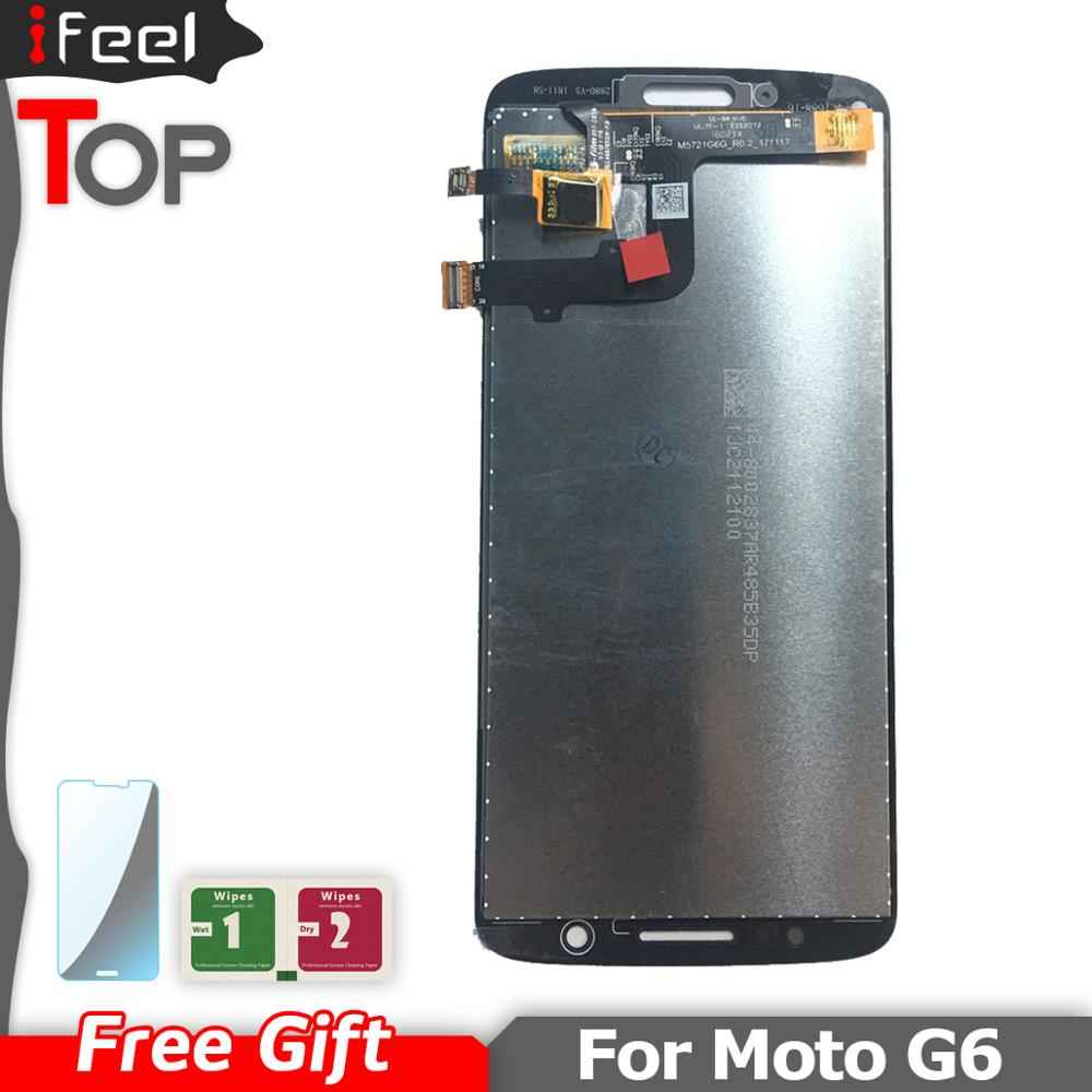 G6 LCD For Motorola Moto G6 Xt1925 XT1925-3 Xt1925-5 Lcd Screen Display With Touch Glass Digitizer Assembly