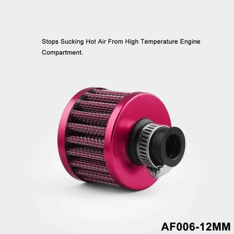 גבוהה נפח זרימת אוויר רכב אוויר שונה שונה קטן פטריות מסנן אוויר ראש פטריות ראש 12mm אוויר מסנן dropshipping