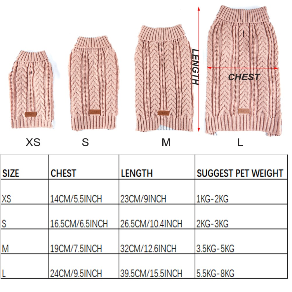 SWEATER SIZE
