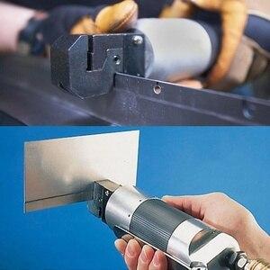 Image 5 - 1 adet hava ile çalışan pnömatik Punch aracı çinko alaşım pnömatik Punch aracı kenar ayarlayıcı Panel flanş 5Mm yumruk araba