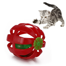 Cat Ball Toy Hollow Funny Interactive Exercise Bell Toys Pet Training Supplies Dropshipping