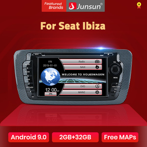 Image 1 - Lettore dvd per auto autoradio Junsun 2 din per Seat Ibiza 2009 2010 2011 2012 2013 navigazione GPS Android 9.0 2GB 32GB opzionale