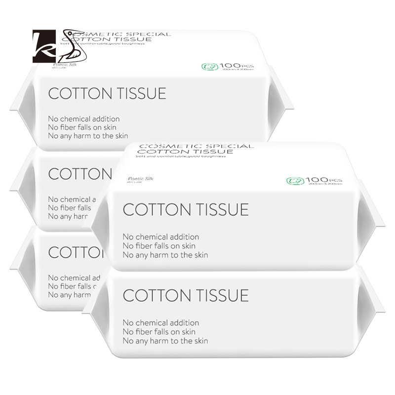使い捨てウォッシュフェイスタオル、きれいな顔タオル、綿の確認が、削除メイクタオル、洗浄フェイシャルティッシュ、クリーンフェイスタオル