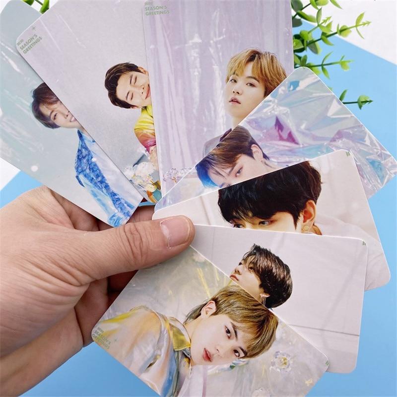 KPOP Bangtan мальчики карта душа PERSONA сезон поздравления ломо карты Фотокарта любовь себя JUNG KOOK JIMIN 64*92 мм