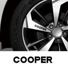 Pour Mini Cooper F56 F54 F57 F55 F60 R50 R52 R53 R55 R56 R57 R58 R59 R60 R61 Jante de Voiture Vinyle Autocollants Auto Accessoires de Décoration