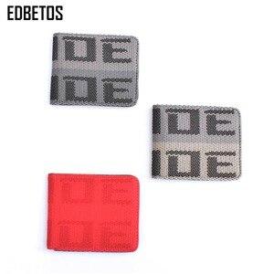 Image 2 - EDBETOS BRIDE wallet Auto Wallet BRIDE Purse JDM VERSION 2 Racing Seat Fabric and Leather Canvas takatas Wallet key case