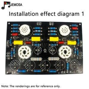 Image 2 - DIY Projekte Audio Single ended Verstärker Bord 185*125 FR4 PCB Board EL34 Bord Kostenloser Versand
