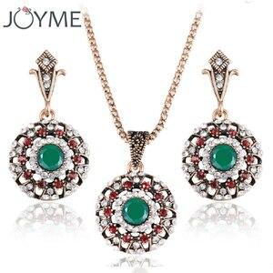Vintage Crystal Turkish Jewelr
