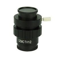 0.3X 0.5X C крепление адаптер электронный окуляр снижение объектива CCD камера интерфейс Тринокулярный Стерео Микроскоп аксессуары