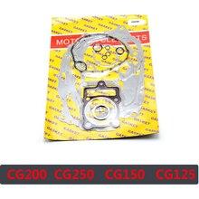 Motorcycle Engine Complete Gasket Set for 125cc / 150cc Motorcycle CG125 156FMI 157FMI / CG150 QJ150 162FMJ