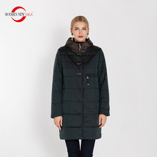 MODERN yeni SAGA 2020 sonbahar kadın ceket kapşonlu pamuk yastıklı ceket kış uzun ceket bayanlar Parka artı boyutu kış ceket kadın