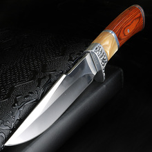 XUAN FENG outdoor knife hunting portable tactical self defense short knife high hardness saber camping survival knife