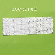 LED Backlight strip 7 lamp LED50A900 D50MF7000 Light Bar 30305000204 LED50D7-ZC14-01 (B) Screen V500HJ1-PE8