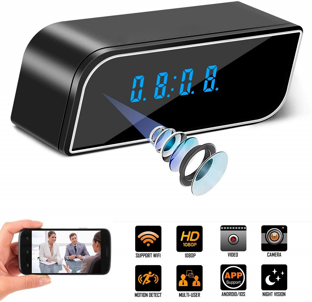 1080P Mini WiFi Camera Wireless Home Security Dvr Night Vision Motion Detect Mini Camcorder Loop Video Recorder