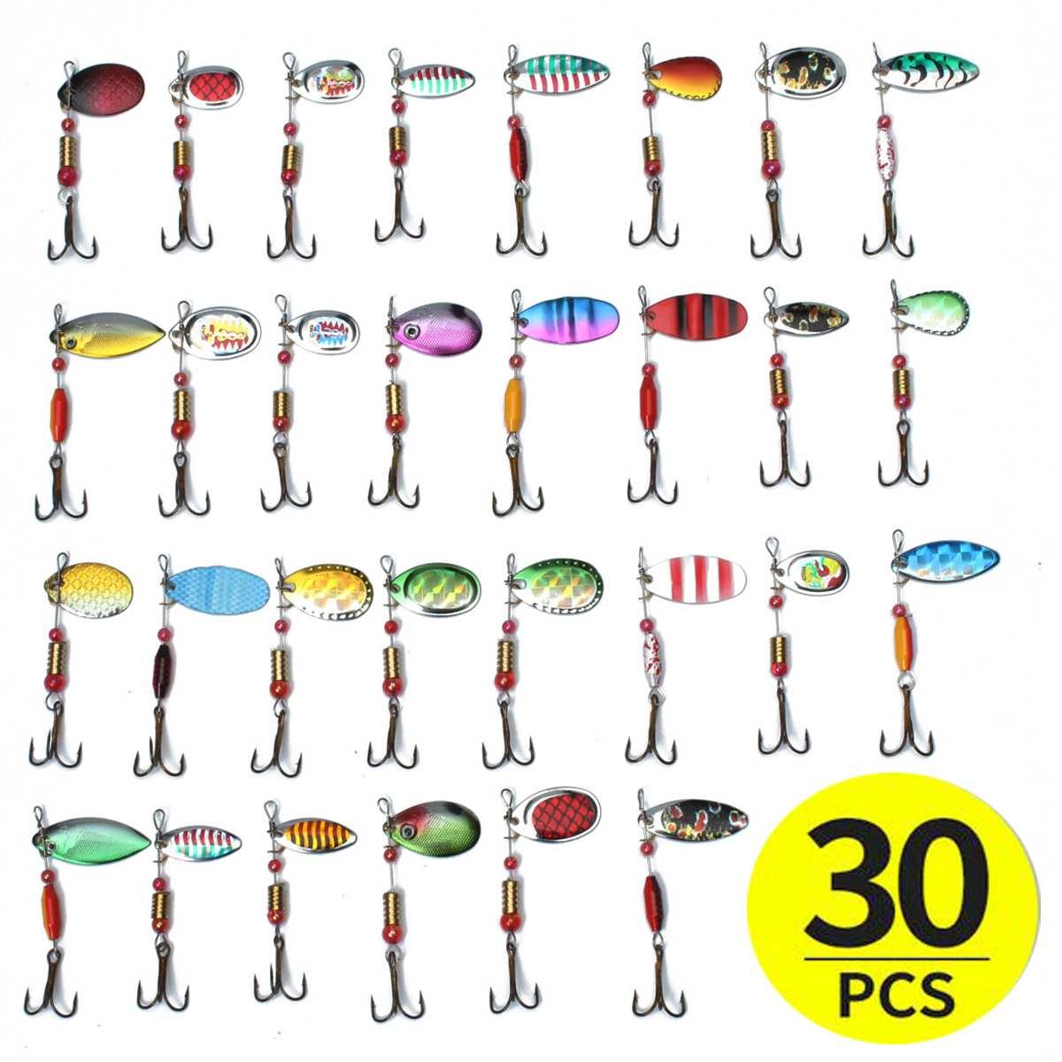 30pcs Metal Fishing Lure Set  1