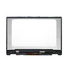 For HP Pavilion x360 14 dh0017ni  14 dh0010TX 14 dh0011TX 14 Dh0009nf LED LCD Display Touch Digitizer Screen Assembly + Bezel