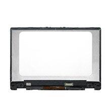 Pour HP pavillon x360 14 dh0017ni 14 dh0010TX 14 dh0011TX 14 Dh0009nf écran LED lcd écran tactile numériseur assemblée + lunette
