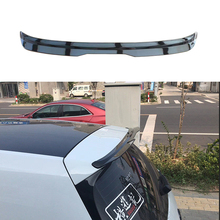 Car Styling ABS Piano Black Rear Trunk Roof Spoiler fit For Volkswagen VW GOLF MK7 MK7.5 Rline GTI 2014 - 2018 Free Delivery high quality abs for volkswagen vw golf 7 r r line gtd gti spoiler 2014 2015 2016 2017 rear window roof spoiler vw golf spoiler