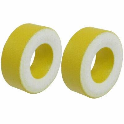 5Pieces Yellow White Iron Core 27mm X 14mm X 11mm Ferrite Rings Toroid