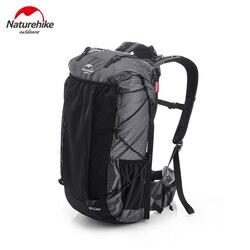 Naturehike 2020 nuevo 60L + 5LCamping senderismo escalada mochilas Piggyback transpirable ligero alrededor de 1160g con cobertura con diseño de lluvia