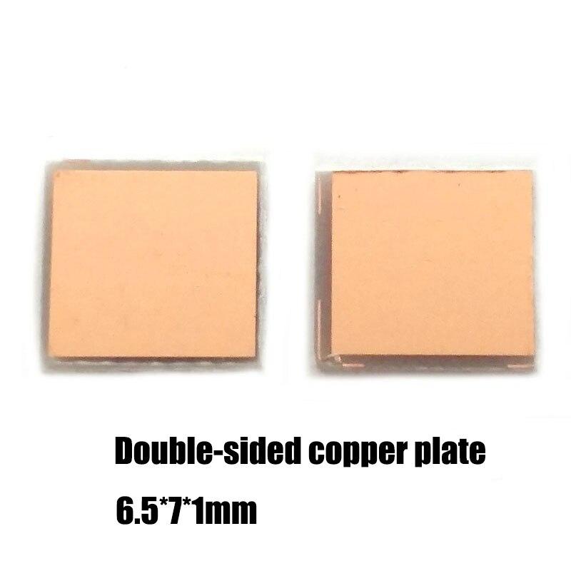 Blank PCB Board Full Copper Board 6.5*7mm 1mm Thickness Multi-function Adapter Board Universal Board