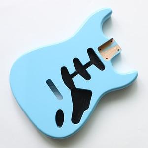 Image 3 - نيترو انتهى لتقوم بها بنفسك SSS سونيك الأزرق ألدر ST الغيتار الجسم ل SSS اليدوية الكهربائية عِدد جيتار