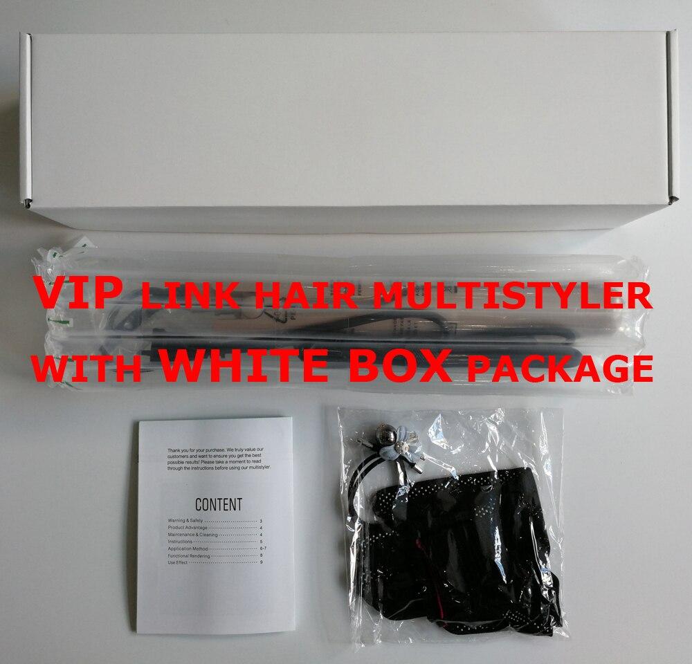 Cliente regular vip link para transporte da gota 2 em 1 alisador de cabelo e cabelo curling ferros multistyler cabelo culrer
