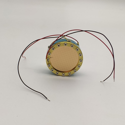 34mm 24k złota kapsułka duża membrana mikrofon rdzeń wkładu mikrofon pojemnościowy mikrofon kapsułka|Akcesoria do mikrofonów|   -