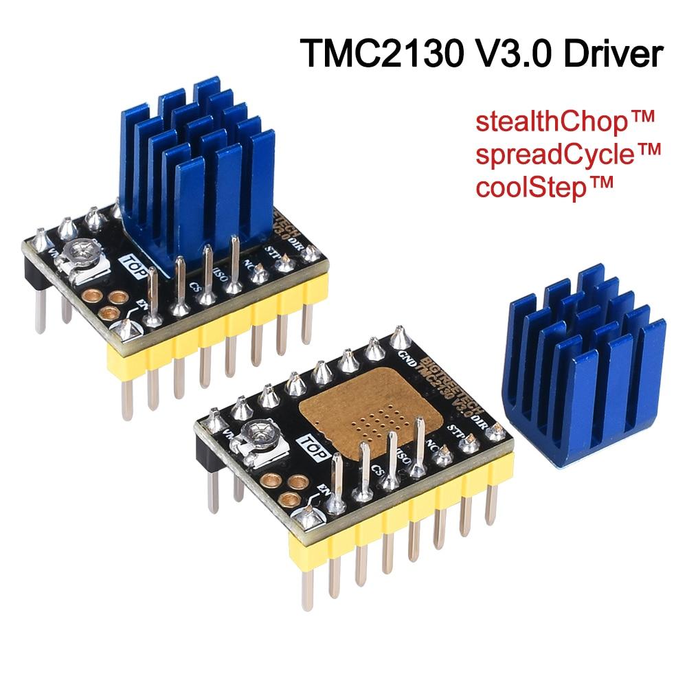 BIGTREETECH TMC2130 V3.0 SPI Stepper Motor Driver Silent 3D Printer Parts Vs TMC2209 TMC2208 A4988 SKR V1.3 Pro MKS GEN L Board
