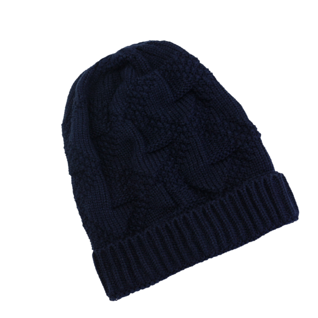 Winter Warm Stylish Slouchy Soft Cable Knit Beanie Hats Stretchy Unisex Chunky Knit Skull Cap Fit Skull Ski Cap for Women Men