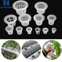NuoNuoWell cultivo sin tierra cama de guardería cesta de plástico verduras hidropónicas Campo de plantación de semillas de raíz de protección|Macetas infantiles| |  -