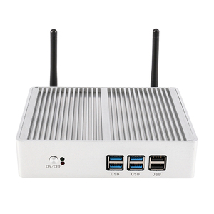 Image 4 - Cheap Fanless DDR4 Mini PC i7 i5 7200U i3 7167U Win10 Pro Barebone PC Nuc Mini Desktop Computer Linux HTPC VGA HDMI WiFi