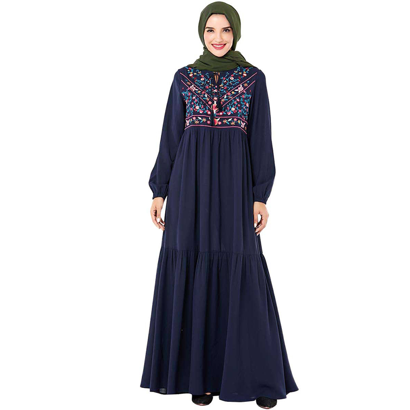 Plus Size Dubai Abaya Hijab Muslim Dress Islamic Clothing Abayas For Women Turkish Dresses Caftan Kaftan Robe Islam Arabes Mujer