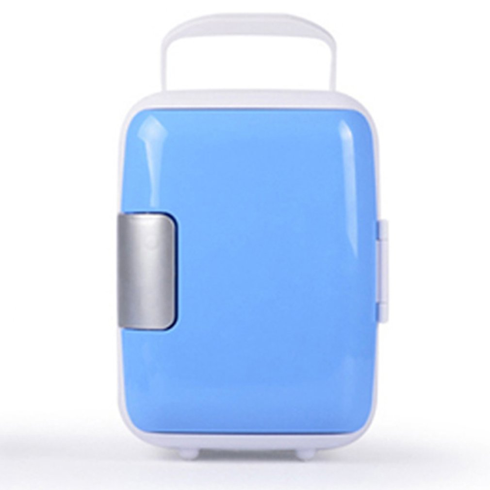 4L Car Refrigerator Car Portable Dual-Use Refrigerator Heating And Cooling Box With Cup Holder Professional