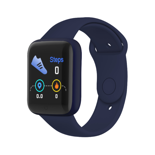 FEOOE Macarone Smart Bracelet Macarone Cross Border New Heart Rate and Blood Pressure Multifunctional Bluetooth Watch Yxm 6