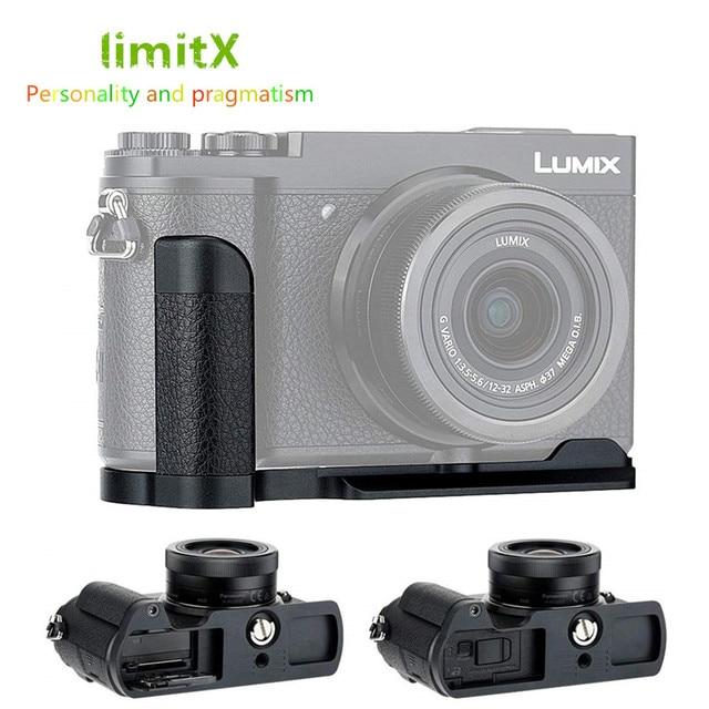 Hand Grip Quick Release Plate L Bracket Tripod Holder For Panasonic GX9 GX7 Mark II III GX7M3 GX7M2 GX85 GX80 Replace DMW HGR2