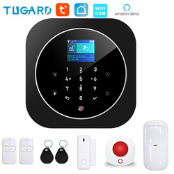 Система охранной сигнализации Tuya, 433 МГц, GSM, Wi-Fi, с датчиком движения