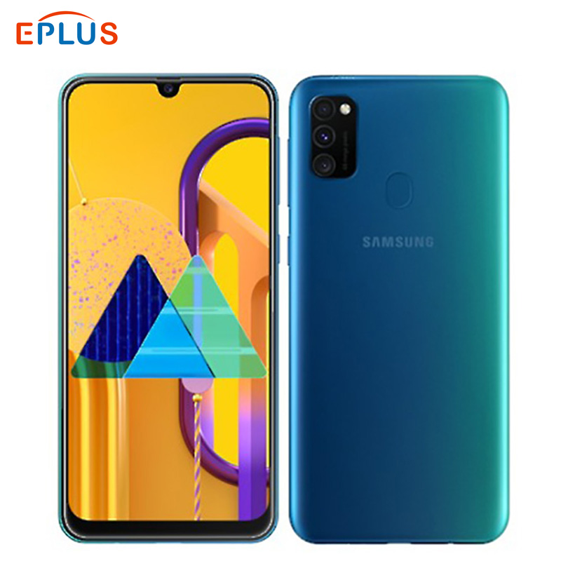 New Original Samsung Galaxy M30S 6GB 128GB Mobile Phone 6000mAh Exynos 9611 Octa Core 6.4