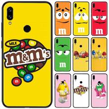 Cute Chocolate M&M'S TPU Soft Silicone Phone Case Cover For Xiaomi Redmi Note 4 4x 5 6 7 8 pro S2 PLUS 6A PRO lavaza the walking dead soft tpu case for xiaomi redmi note 5 6 7 pro for redmi 5a 6a s2 5 plus silicone cover