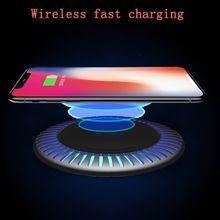 Беспроводное зарядное устройство 15 Вт qi для iphone x xs xr