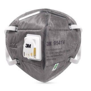 3M 9541V Grey Safety Protective Dust safe Masks Anti-PM 2.5 Sanitary Working Respirator With Filter Structure 2