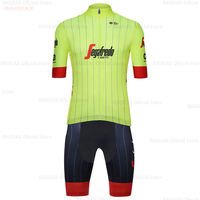 2019 Men's Cycling Jersey Set (2 Pieces) Tenue Cycliste Homme Cycling Clothing MTB Triathlon Breathable Quick Drying Cycling Set