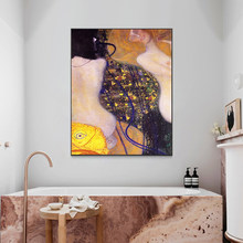 DIY digital paint picture Nordic style figure painting gold nude female art living room decoration painting decompression(China)