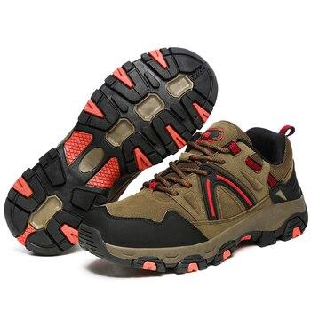 Zapatos de senderismo para hombre botas t cticas de