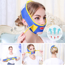 Face-Lifting-Belt Slimming-Strap Double-Chin Prevent Reduce Cheeks-Sagging
