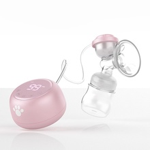 Breast-Pump Electric Silicone And Massage Display Liquid Crystal Child-Supplies Maternal