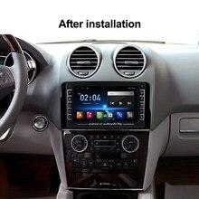 1280X720 HD Android para Benz Clase M W164 GL clase X164 ML GL ML350 ML500 GL350 GL450 auto Radio estéreo Gps reproductor Bluetooth