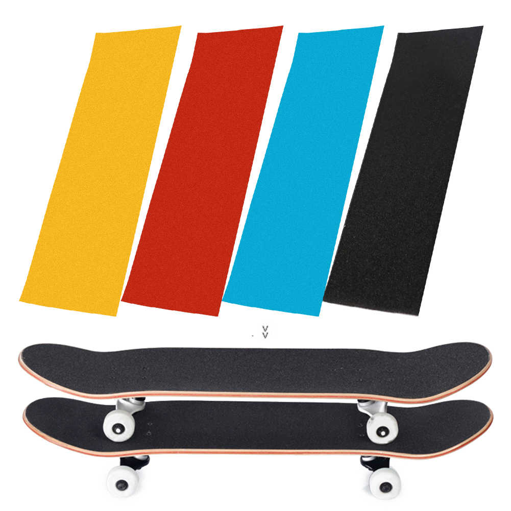 Sandpaper Sheet Perforated Skateboards Anti-slip Sticker Rough Parts Grip Tape