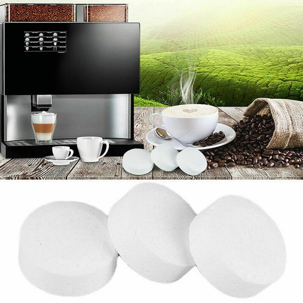Automatic Coffee Machine Cleaning Tablets Milk Scale Accessories Descaling Agent Effervescent Cleaning Tablets Cleaning Kit R3N1